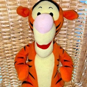 "Collectible Tigger plush 12"" Disney"